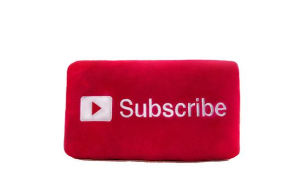 Bag Subscribe Button Pillow Subscribe Pillow Subscribe