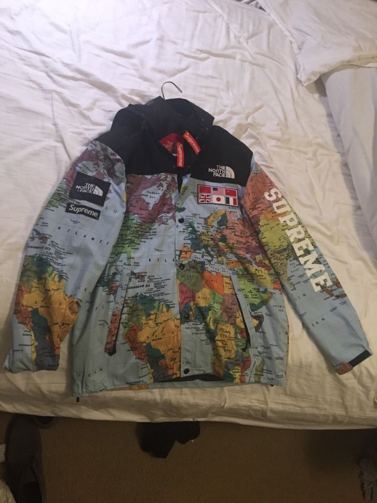 The north face supreme jacket ebay ltt north face expedition coaches jacket large black flags ebay 18 gumiabroncs Gallery