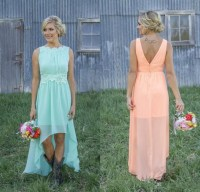 Pink And Orange Bridesmaid Dresses Uk