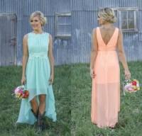 Pink And Orange Bridesmaid Dresses Uk - Wedding Dresses In ...