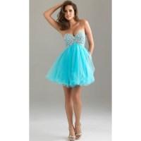 Night Moves Babydoll Short Prom Dress 6487