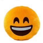 Emoji Smile Pillow
