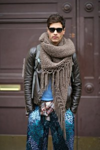 scarf, menswear, big, dope, fashion, menswear, mens scarf ...