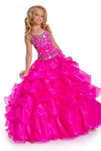 dress, big fat gypsy wedding, girls prom dress, girls ...