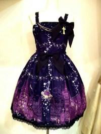 Dress: purple dress, emo, scene, scene queen, edgy, prom ...