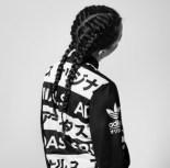 Adidas Idk Japanese Uni Symbols Asiatic Adidas Varsity Jacket