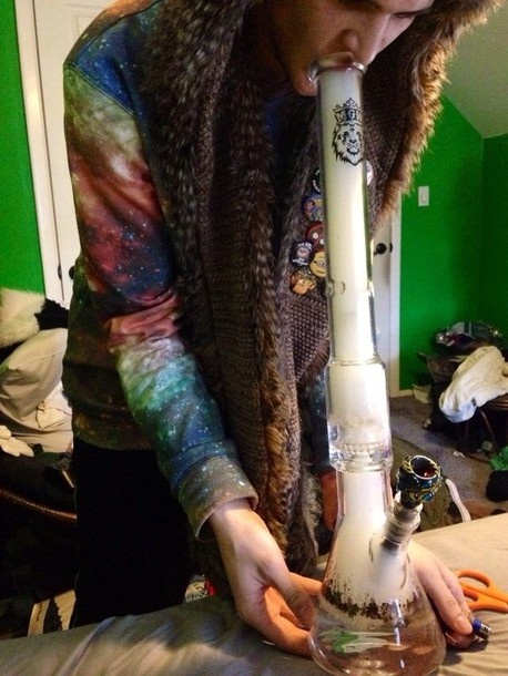 Rasta Girl Wallpaper Sweater Hippie Weed Hippie Marijuana Colorful Smoke