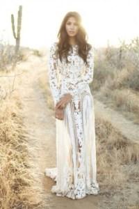 Dress: lace dress, white dress, cute, hippie, fashion ...
