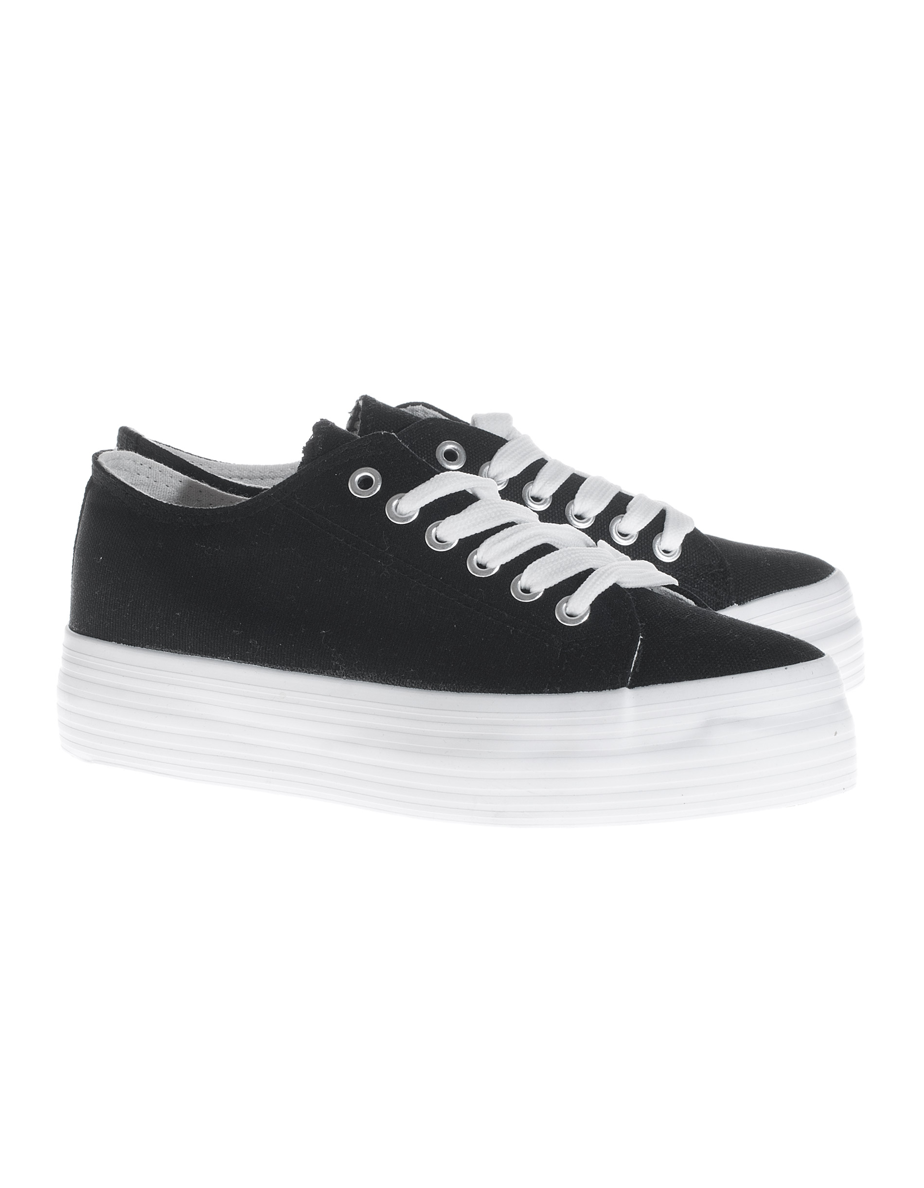Black And White Canvas Pictures Defeeter Black White Canvas Platform Canvas Sneakers Shoes