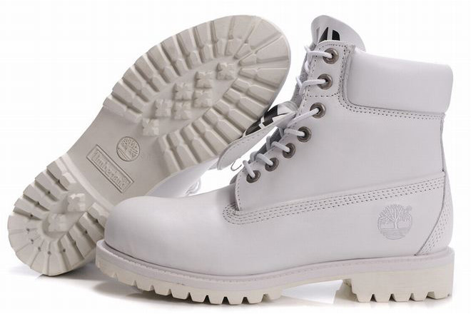 Sale Mens Timberland 6 Inch Premium Waterproof Boots White