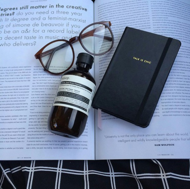 Cute Nail Arts Wallpaper Jewels Notebook Journal Book Book Book Glasses Aesop