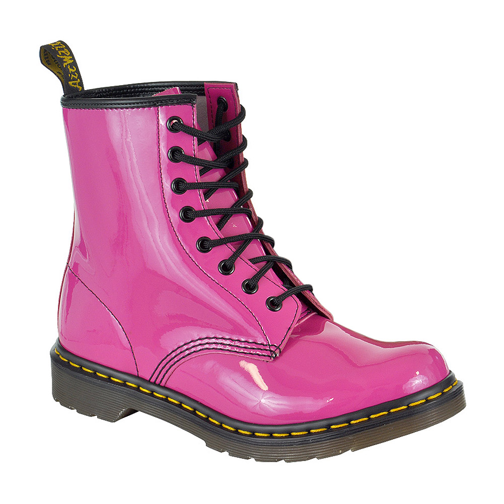 Dr Martens 1460 Boots Patent Pink