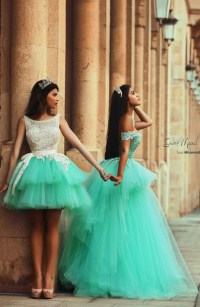 Dress: mint blue dress, off the shoulder dress, layered ...