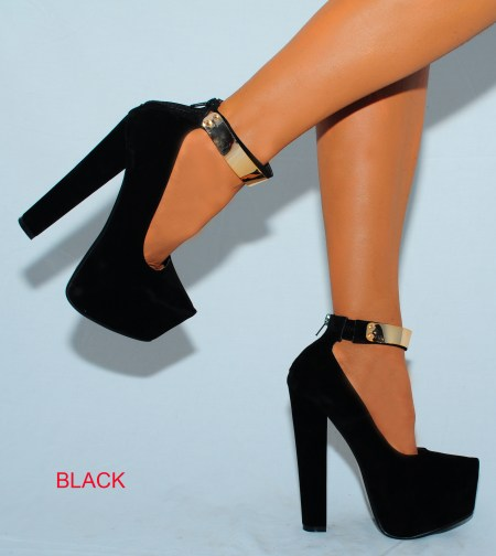 Heeled Shoes With Strap