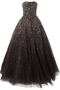 Sequined tulle gown | Marchesa | 55% off | THE OUTNET