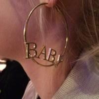 Jewels: earrings, hoop earrings, cyber ghetto, soft ghetto ...
