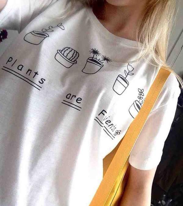 Wallpaper Tank Girl T Shirt Shirt Top White Cotton Cumfy Comfy Tumblr