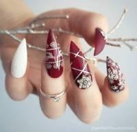 nail polish, holiday nail art, holidays nail art ...