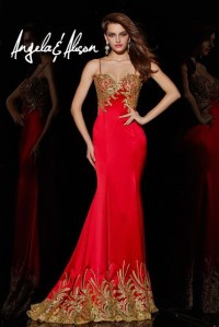 Dress: evening dress, pageant dresses, prom dress, red and ...