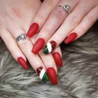 nail polish, christmas nail art, holiday nail art ...