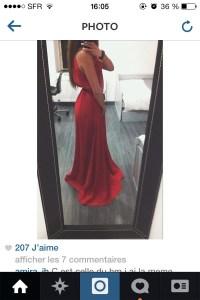dress, long red dress, red dress, red maxi dress, red prom ...