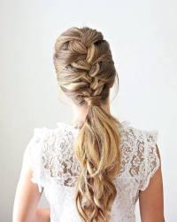 hair accessory, braid, tumblr, hairstyles, braided, long ...