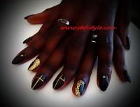 Nail polish: make-up, girl, nails, nail art, sexy, bikini ...