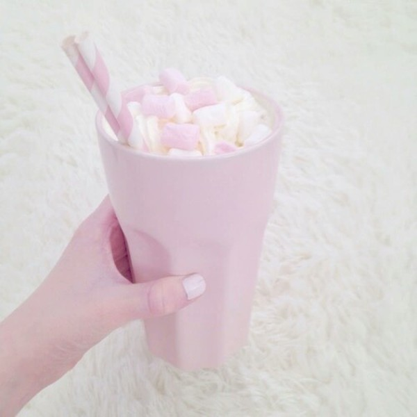 Cute Coffee Mug Wallpaper Phone Cover Cup Pastel Tumblr Kawaii Pink Mug Home