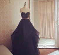 dress, black dress, prom dress, ball gown dress, corset ...
