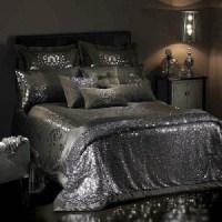 Dress: bedding, sheets, bedding, sequins, house, details ...