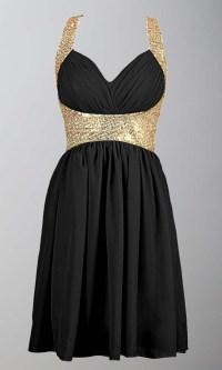 Black And Gold Prom Dresses Cheap - Eligent Prom Dresses