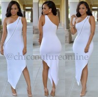 dress, white dress, summer dress, all white party ...