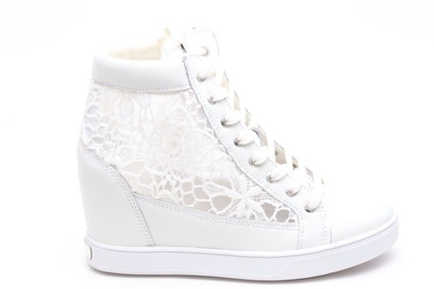 Shoes Guess Shoes Guess Pretty Cute Lace Sneakers