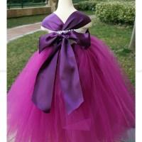 Flower Girl Dress Purple Plum tutu dress baby dress