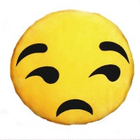 B2- SMIRK EMOJI PILLOW | B2!  BEST ONLINE STORE IN THE ...