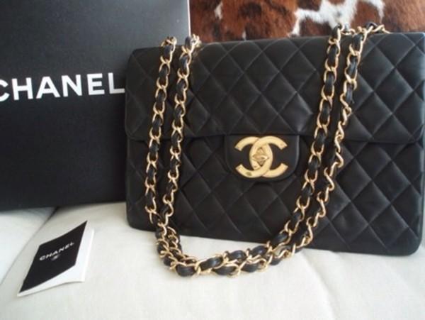 Bag Chanel Chanel Bag Black Blackbag Black Bag Black