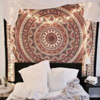 home accessory, mandala wall hanging, hippie wall hanging ...