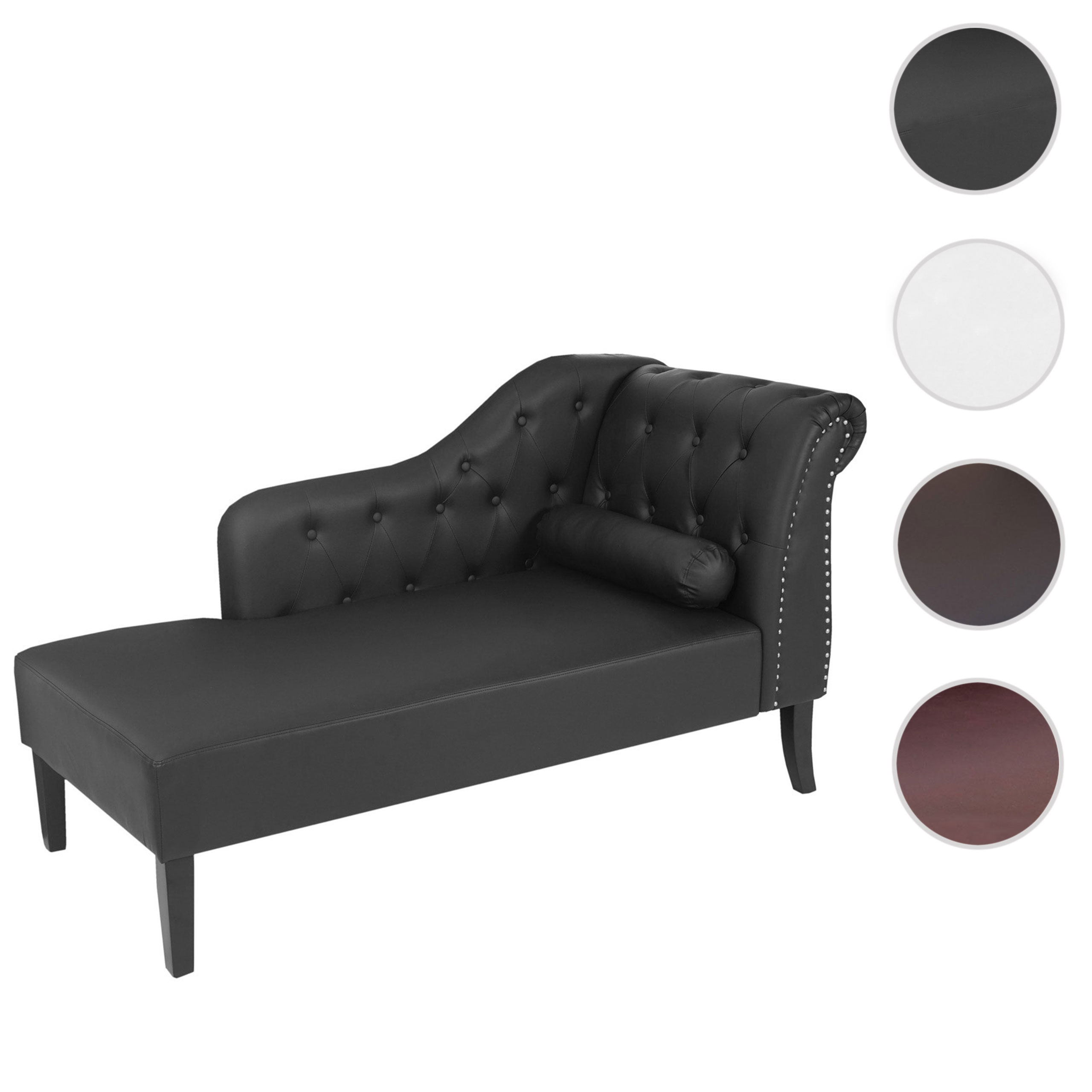 Chaiselongue Recamiere Luxus Recamiere Chesterfield Relaxliege Loungesofa Chaiselongue Kunstleder