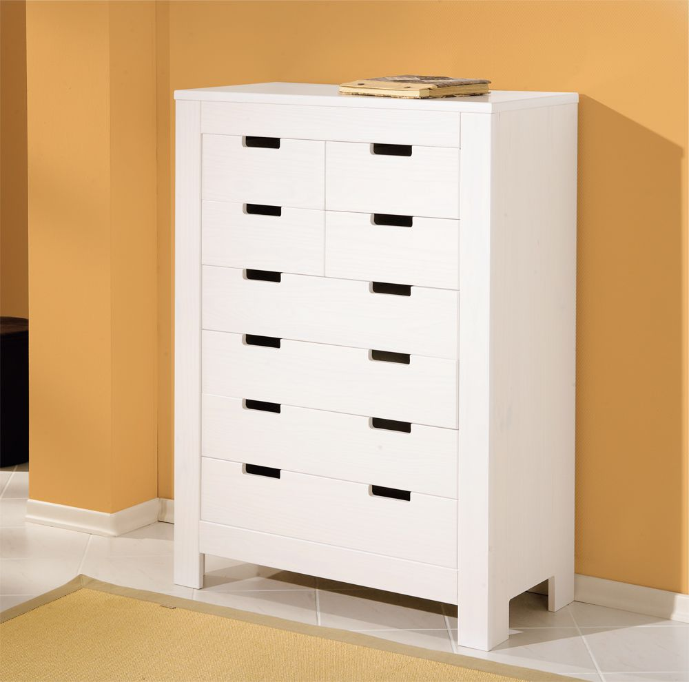 Kommode Im Landhausstil Highboard Kommode Landhausstil 8 Schubladen Massivholz Weiß L Bey