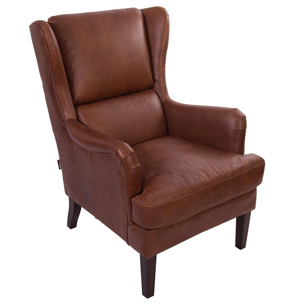 Echt Leder Sessel Loungesessel Dartford Montaigne Brown Ledersessel Sessel Echtleder Leder