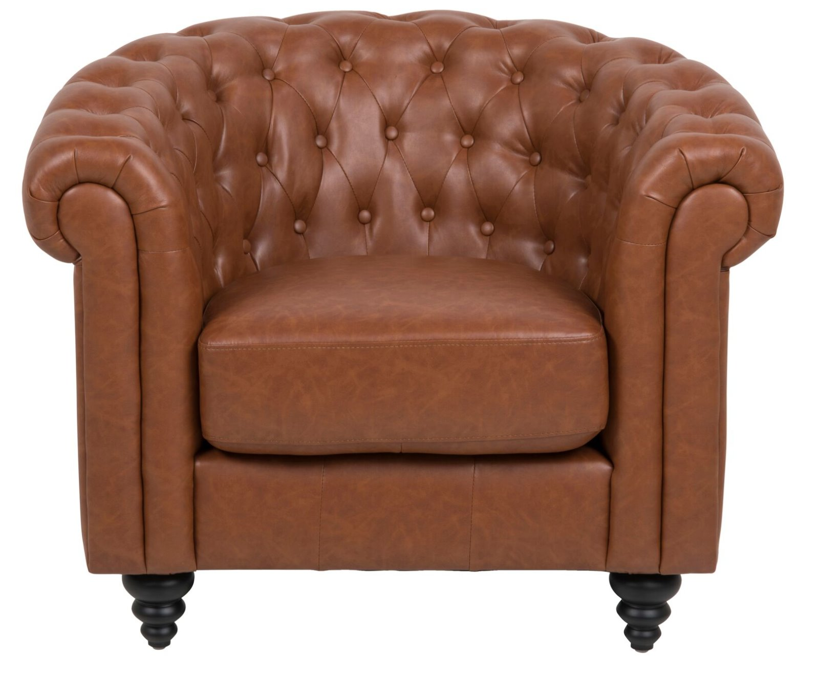 Cognac Sessel Pkline Sessel Charlie In Vintage Cognac Chesterfield Design Clubsessel