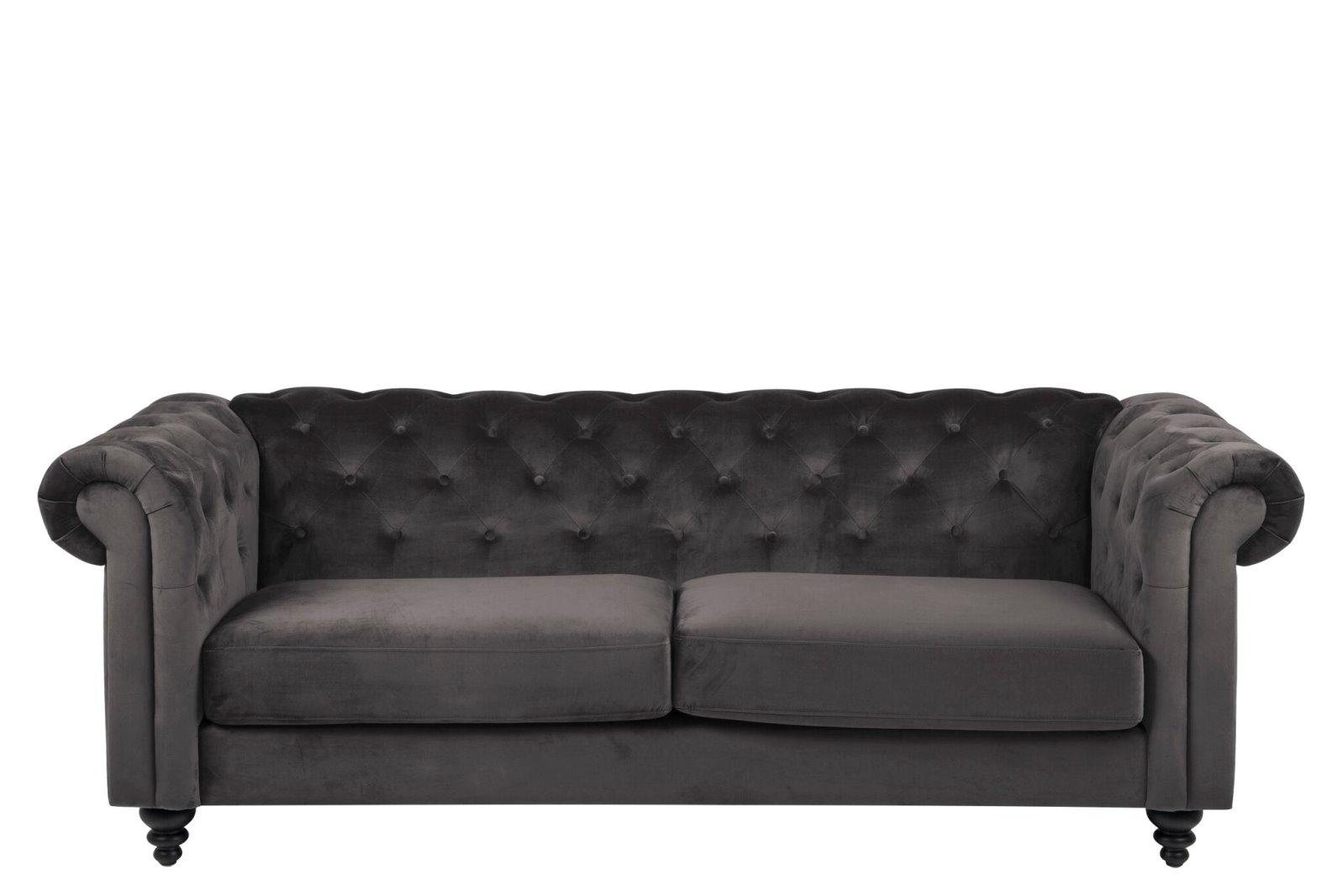 Sacly Lounge Sessel Sofa Charlie 3 Personen In Grau Couch Stoffsofa Sitzmöbel Designsofa