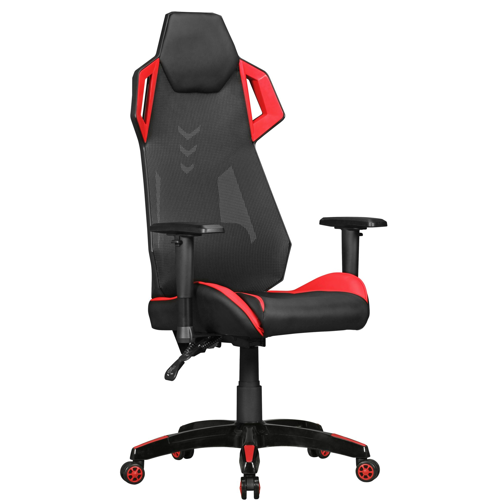 Amstyle Chefsessel Race Amstyle Gamepad Gaming Chair Aus Kunstleder Mesh In