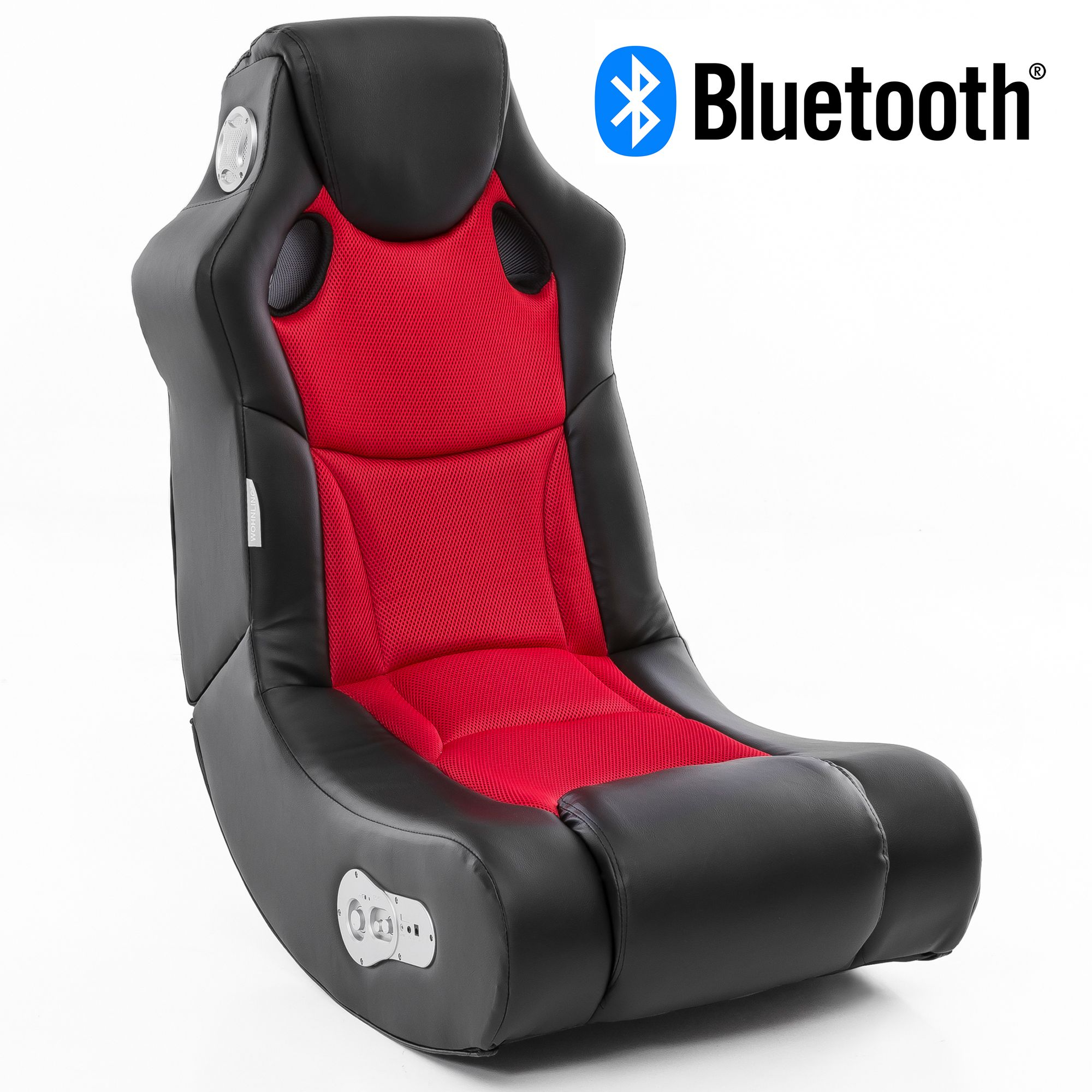 Music Rocker Sessel Wohnling Booster Soundsessel 2 1 Mit Bluetooth Gaming