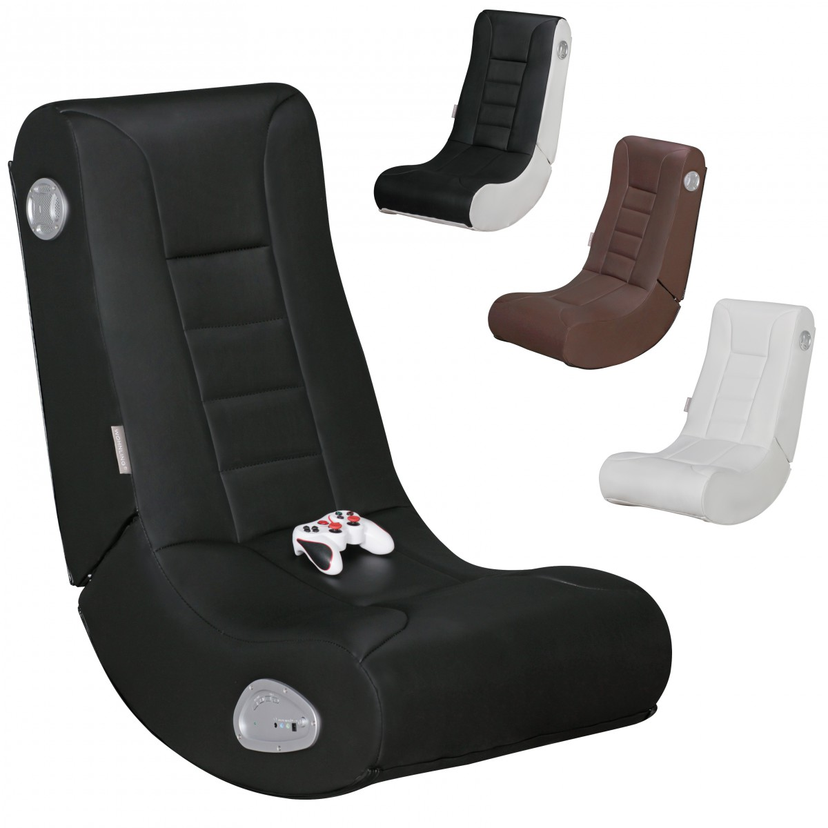 Sound Sessel Finebuy Gameone Soundsessel 2 1 Gaming Multimedia Rocking Chair Music Rocker Soundchair Multimediasessel
