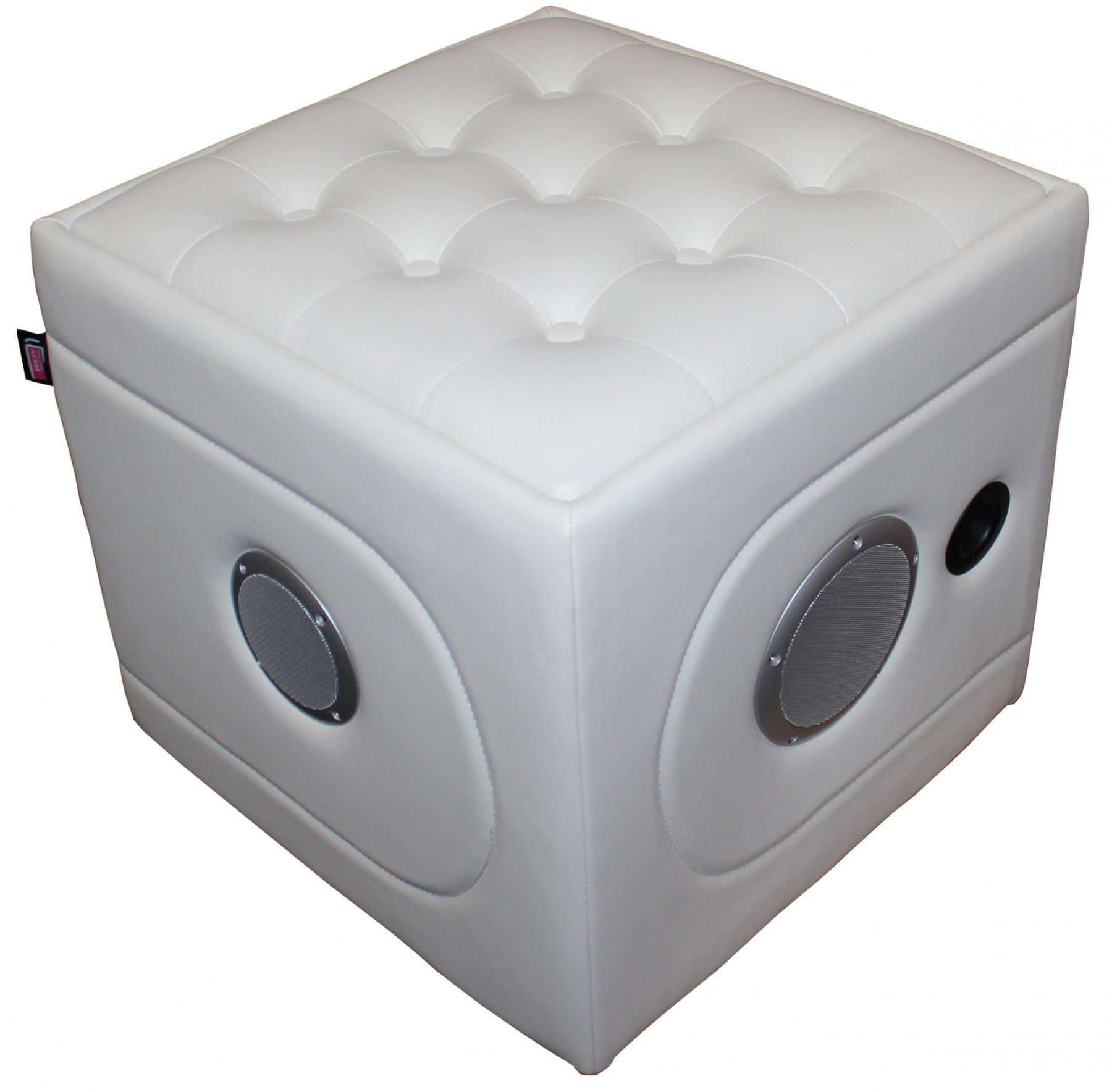 Hocker Würfel Multimediahocker Sitz Würfel Cube Hocker Soundhocker