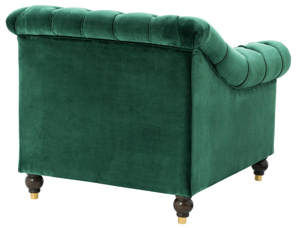 Chesterfield Sessel Casa Padrino Luxus Chesterfield Sessel Grün 99 X 90 X H 81 5 Cm Limited Edition