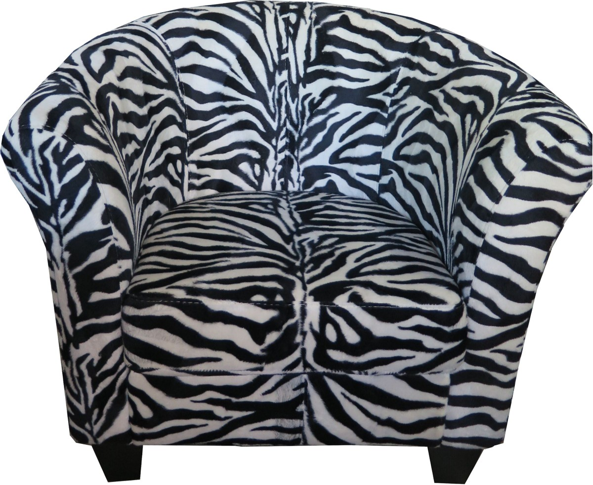 Chesterfield Sessel Casa Padrino Designer Chesterfield Sessel Zebra Club Möbel Schwarz Weiß Afrika Design