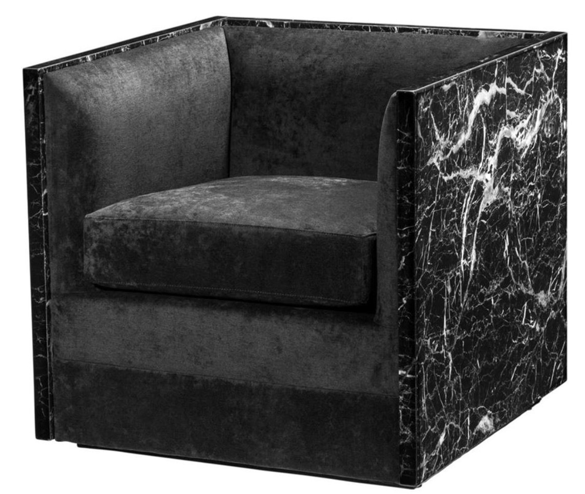 Hotel Sessel Casa Padrino Luxus Hotel Sessel Schwarz 71 X 70 X H 68 Cm Limited Edition