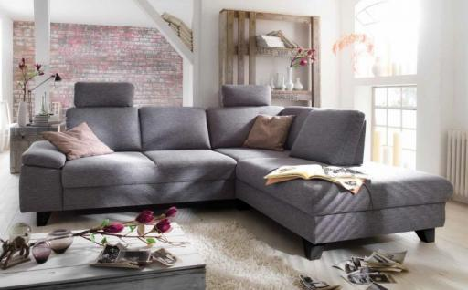 Eckcouch Mit Relaxfunktion Polstercouch Sofa Couch Ecksofa Polsterecke Funktion Grau